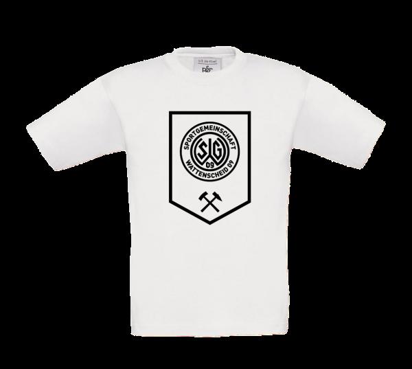 Kids T-Shirt Bergbau weiß