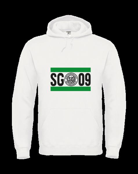 Hoodie SG 09 weiß