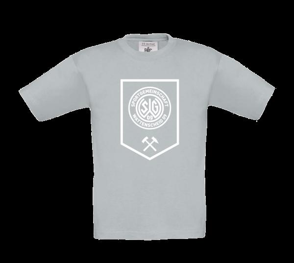Kids T-Shirt Bergbau grau