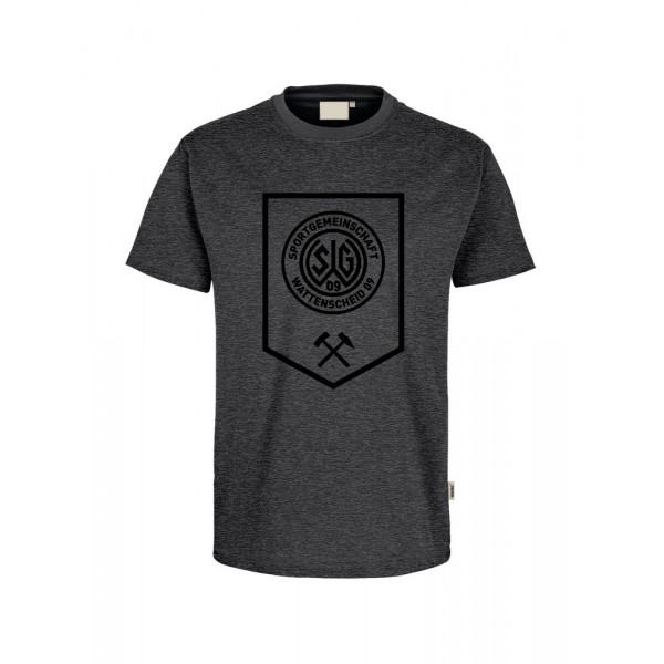 T-Shirt Bergbau Herren grau