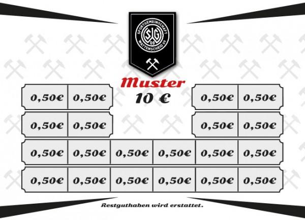 Wertkarte 10 Euro